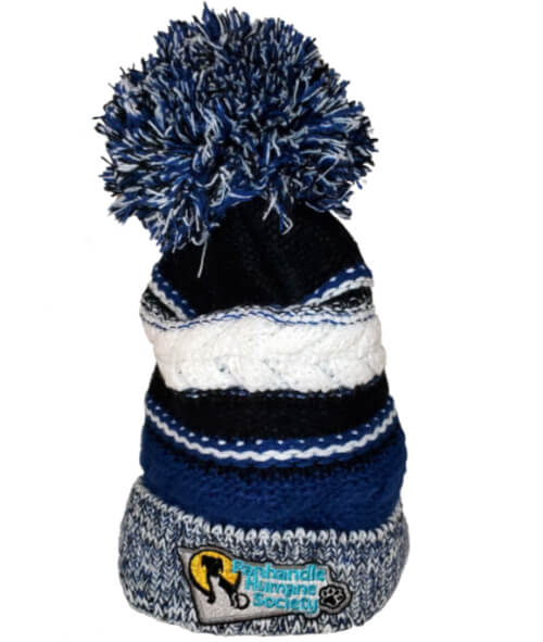 Beanie with Panhandle Humane Society Logo